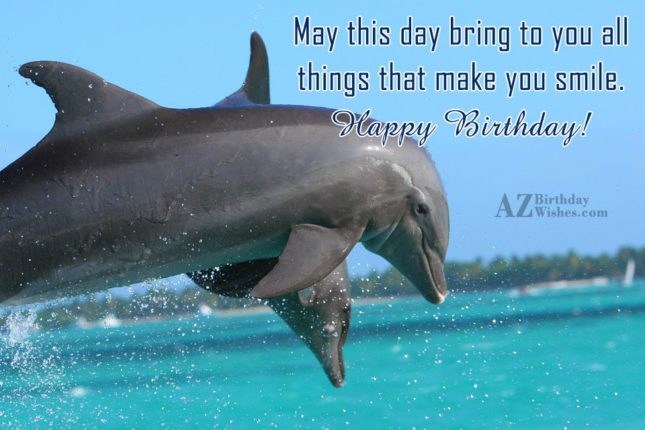 May this day bring to you all… - AZBirthdayWishes.com