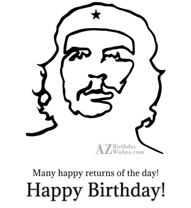 Many Happy returns of the day… - AZBirthdayWishes.com