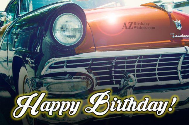 Happy Birthday - AZBirthdayWishes.com