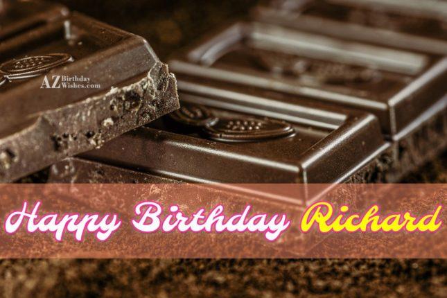 Happy Birthday Richard - AZBirthdayWishes.com