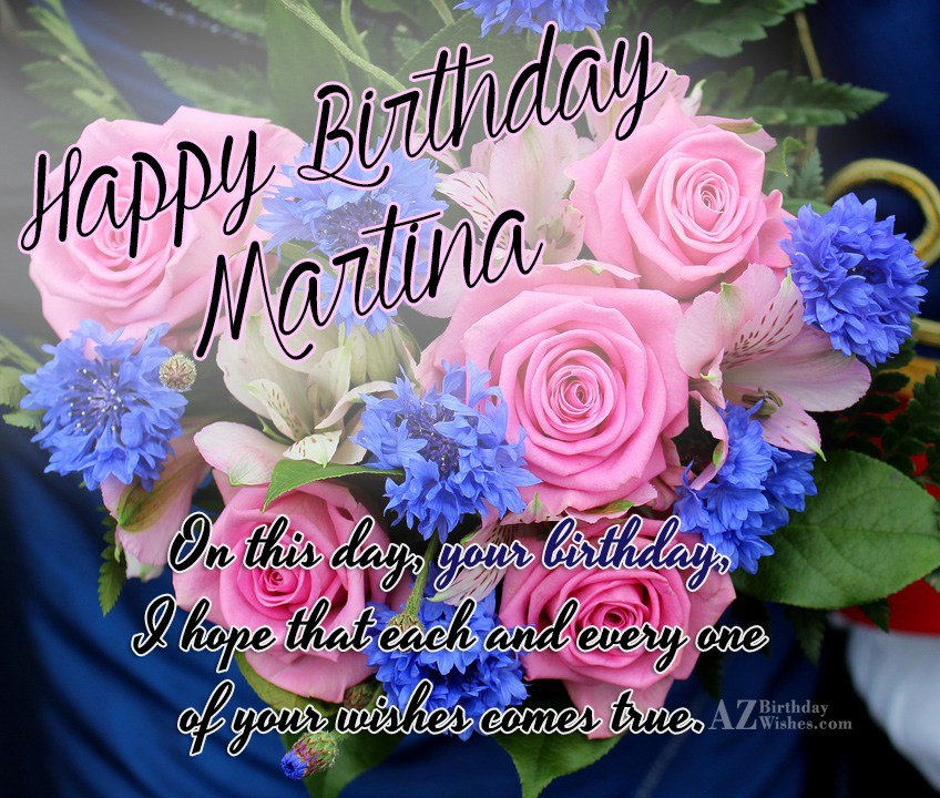 Image result for happy birthday Martina