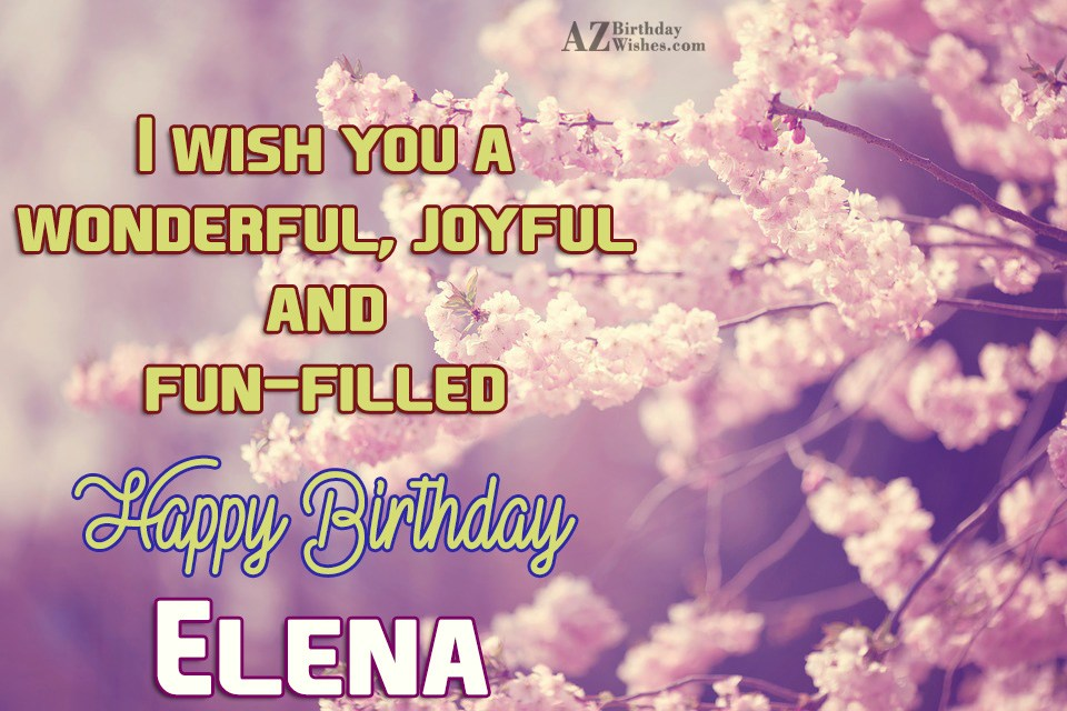 Image result for happy birthday Elena