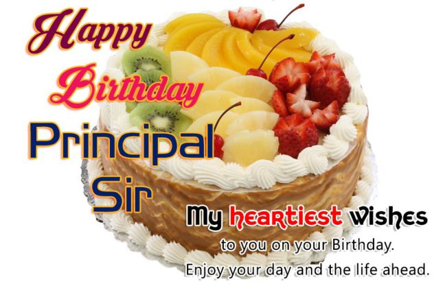Best wishes to Principal Sir… - AZBirthdayWishes.com