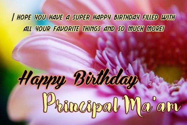 Birthday Wishes to Principal Mam… - AZBirthdayWishes.com