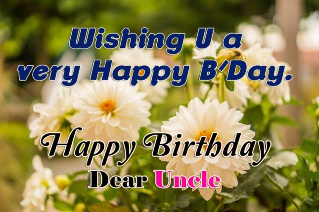 Wishing you a very happy birthday Uncle… - AZBirthdayWishes.com