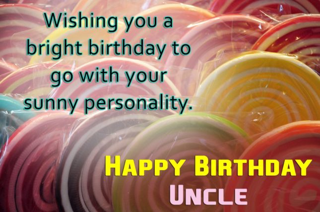 Birthday greetings to uncle… - AZBirthdayWishes.com
