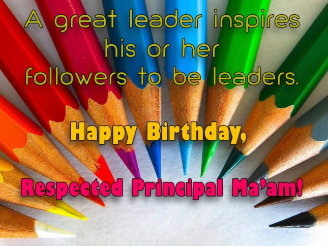 A great leader inspires his or her… - AZBirthdayWishes.com