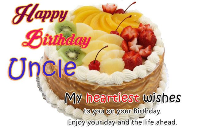 My heartiest wishes to you uncle… - AZBirthdayWishes.com