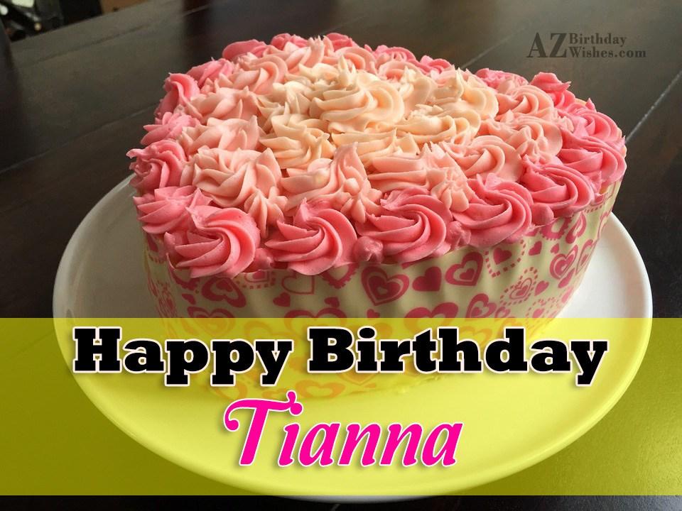 Happy Birthday Tianna