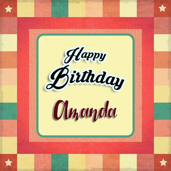 Happy Birthday Amanda - AZBirthdayWishes.com