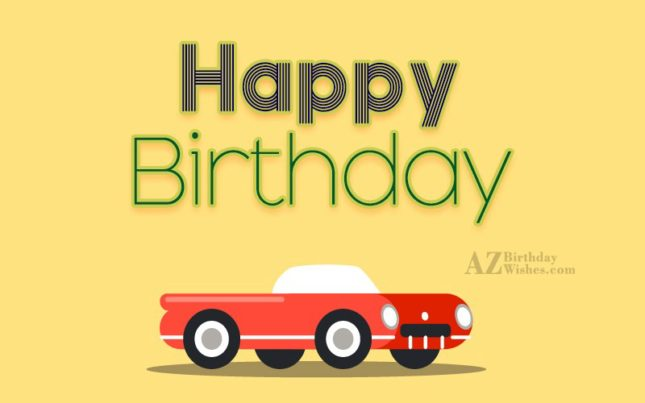 Birthday greeting… - AZBirthdayWishes.com
