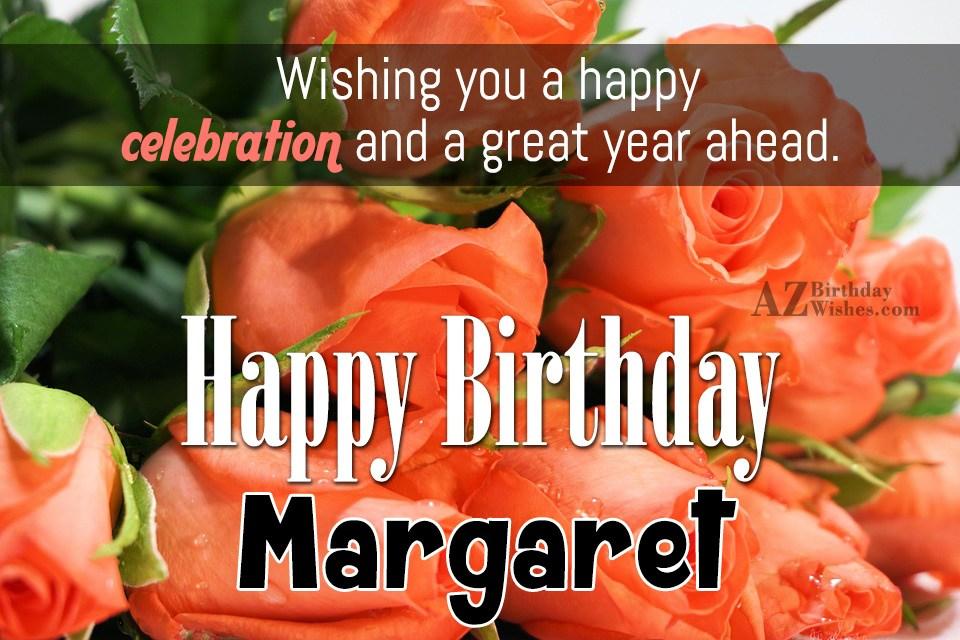 Happy Birthday Margaret