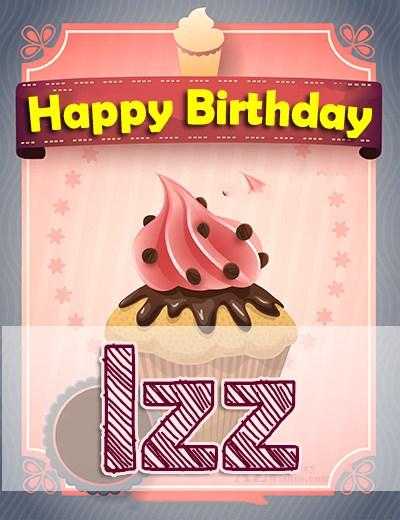 Happy Birthday Izz - AZBirthdayWishes.com