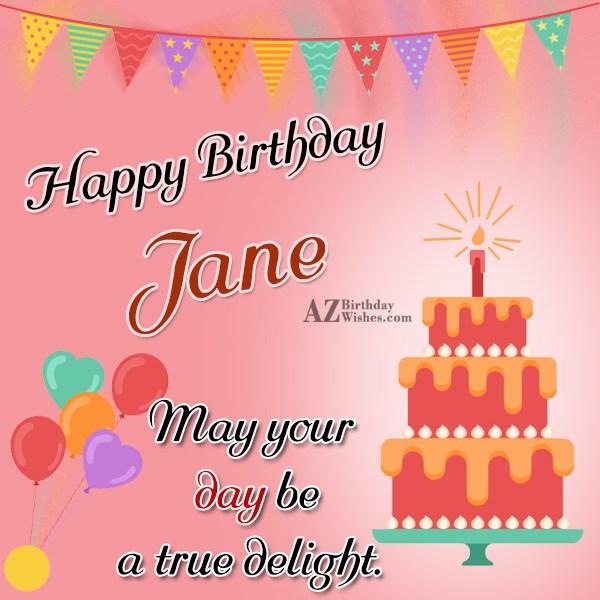 Happy Birthday Jane