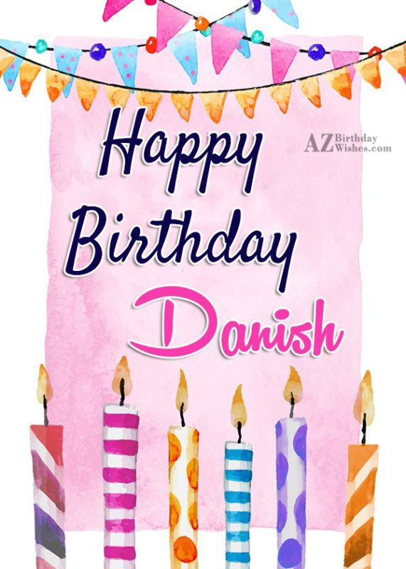 Happy Birthday Danish