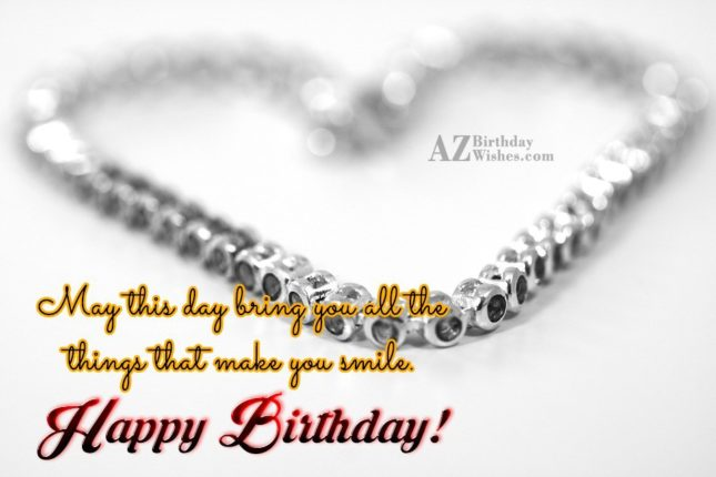 May this day celebrate you all - AZBirthdayWishes.com