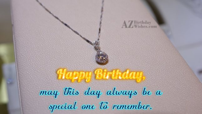 May this day always be a special - AZBirthdayWishes.com