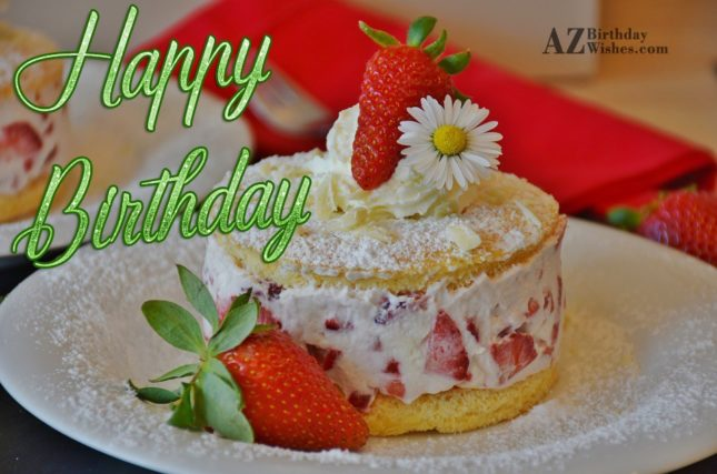 Wish you a lovely happy birthday - AZBirthdayWishes.com