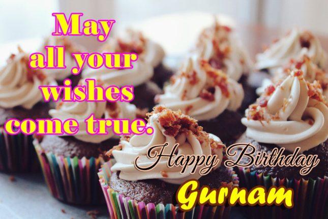 Happy Birthday Gurnam - AZBirthdayWishes.com