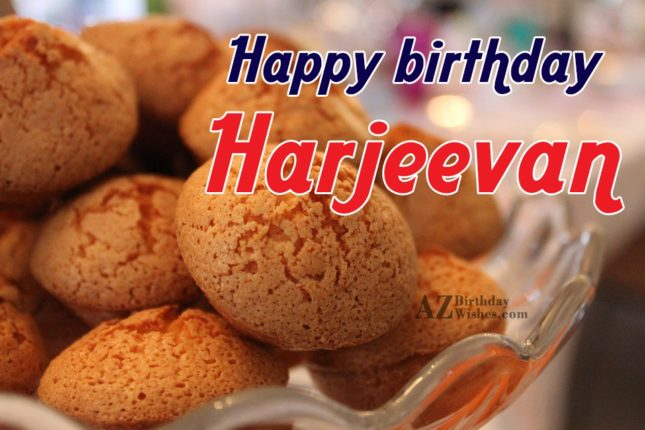 Happy Birthday Harjeevan - AZBirthdayWishes.com