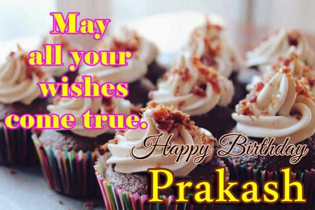 Happy Birthday Prakash - AZBirthdayWishes.com