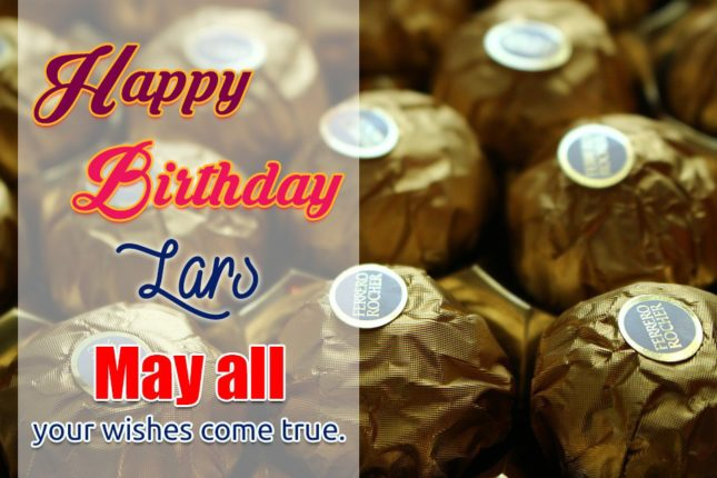 Happy Birthday Lars - AZBirthdayWishes.com