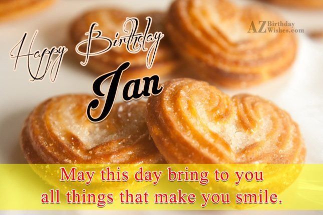 Happy Birthday Ian - AZBirthdayWishes.com