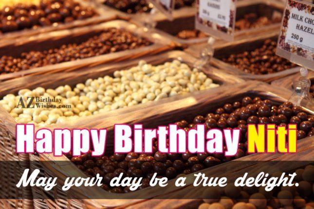 Happy Birthday Niti - AZBirthdayWishes.com