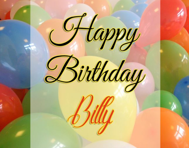 Happy Birthday Billy - AZBirthdayWishes.com