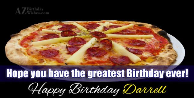 Happy Birthday Darrell - AZBirthdayWishes.com
