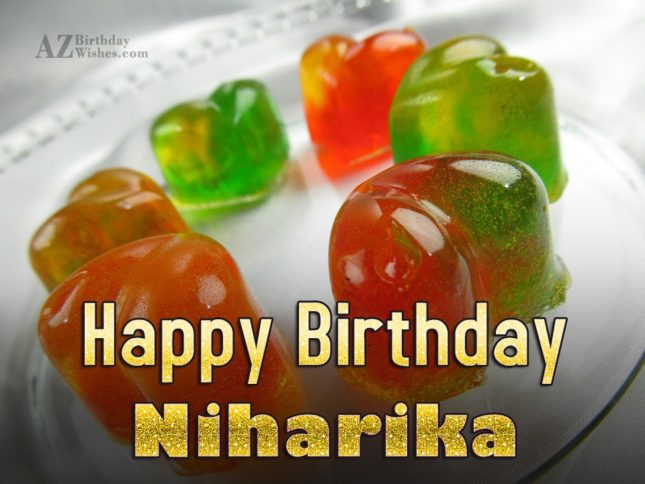 Happy Birthday Niharika - AZBirthdayWishes.com