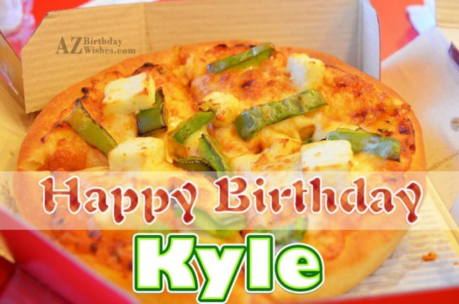 Happy Birthday Kyle - AZBirthdayWishes.com