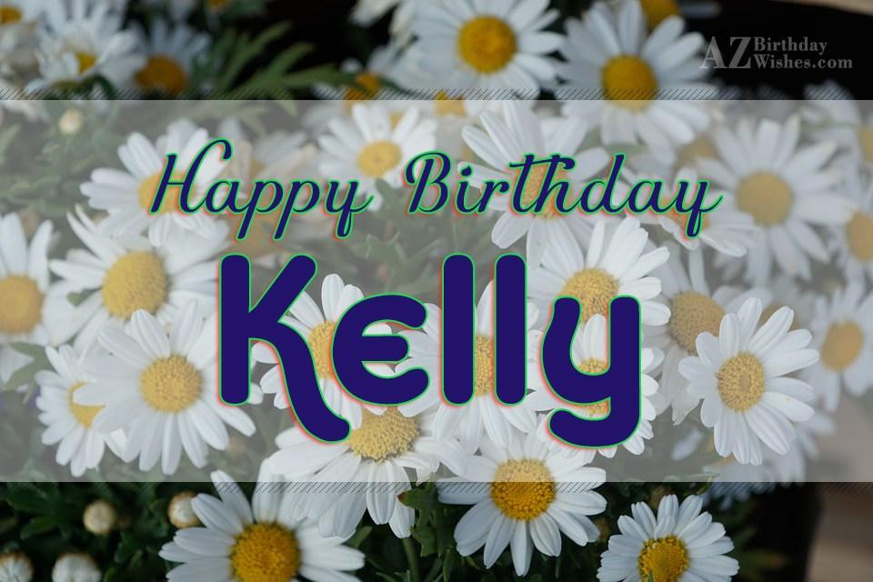 Happy Birthday Kellie Cake
