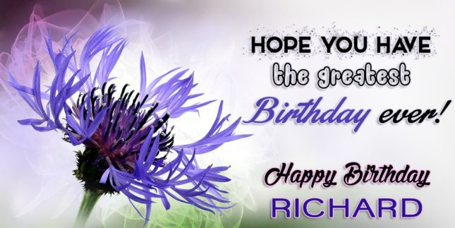 Happy Birthday Richard - AZBirthdayWishes.com
