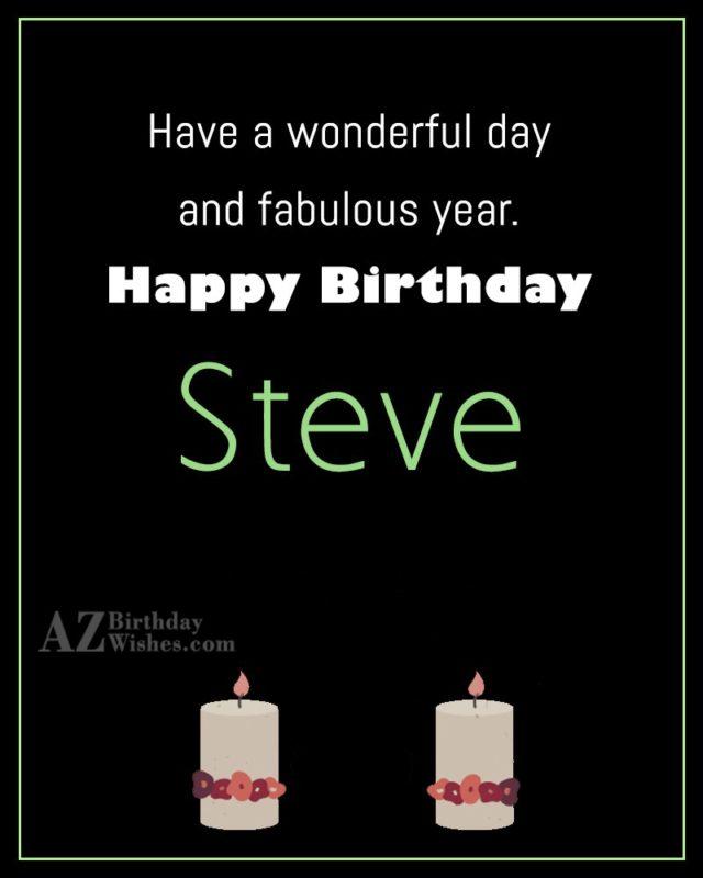 Happy Birthday Steve