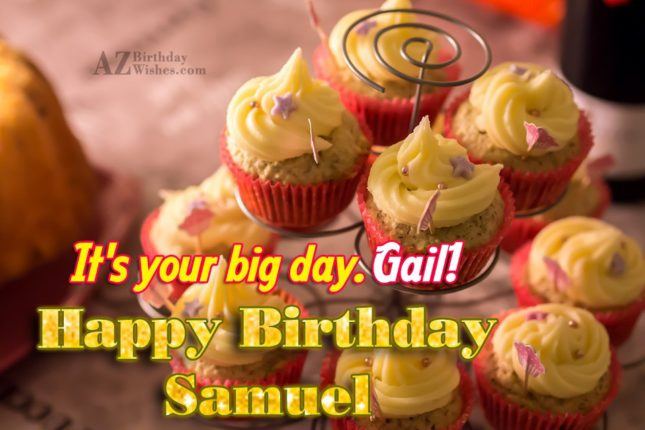 Happy Birthday Gail - AZBirthdayWishes.com