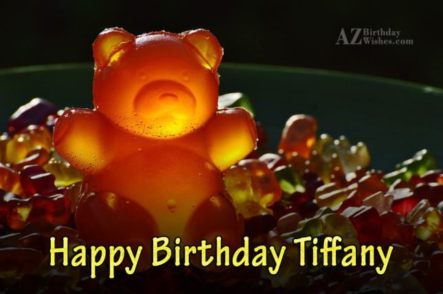 Happy Birthday Tiffany - AZBirthdayWishes.com