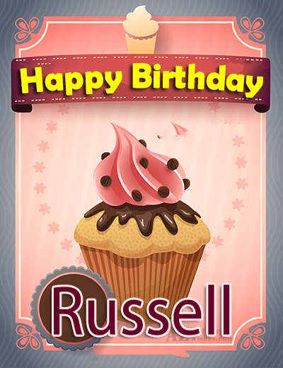 Happy Birthday Russell - AZBirthdayWishes.com