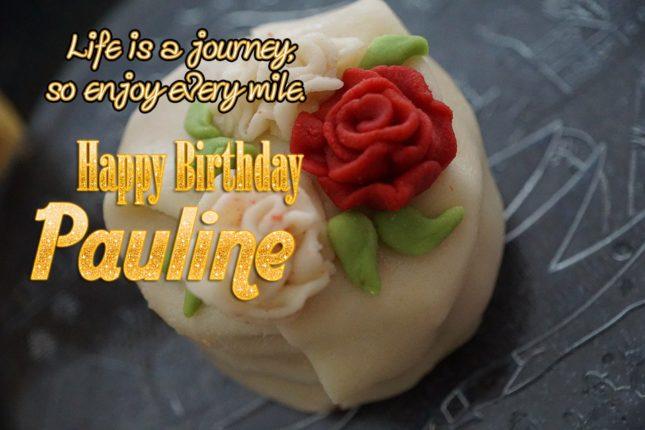 Happy Birthday Pauline - AZBirthdayWishes.com