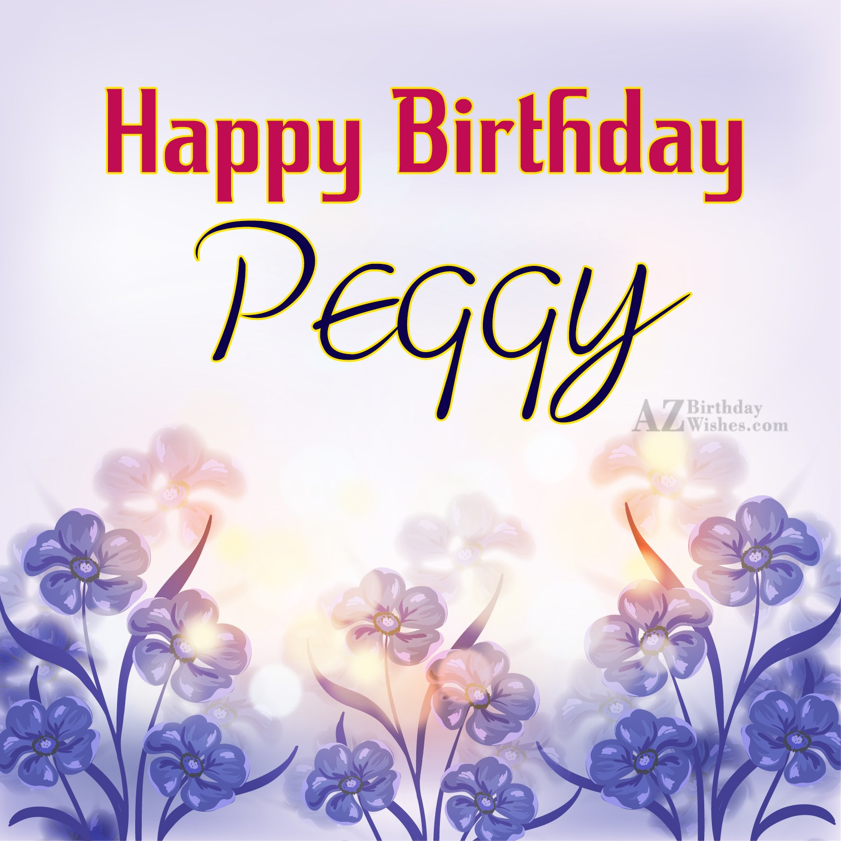 happy birthday peggy