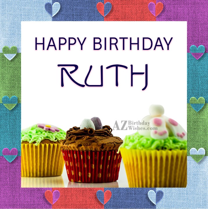 Happy Birthday Ruth