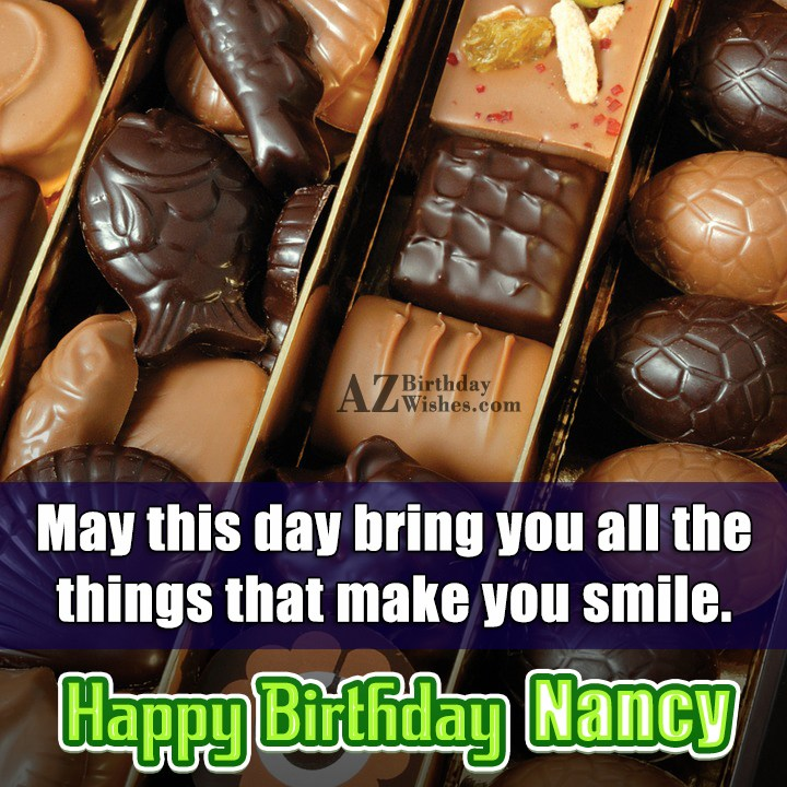 Happy Birthday Nancy