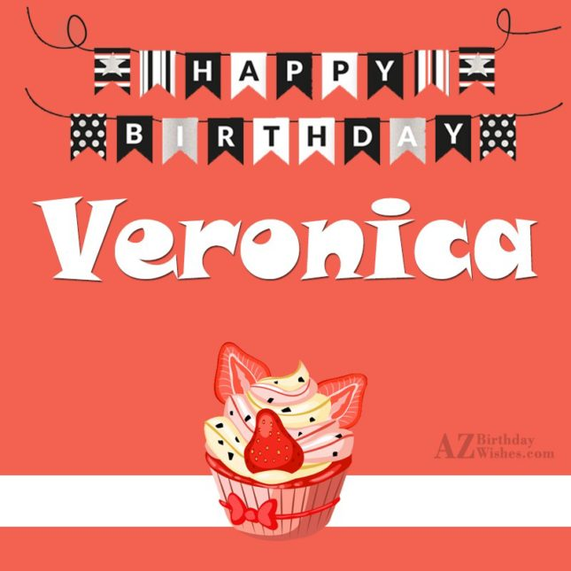Happy Birthday Veronica