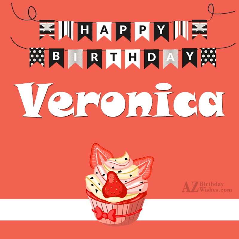 happy birthday veronica