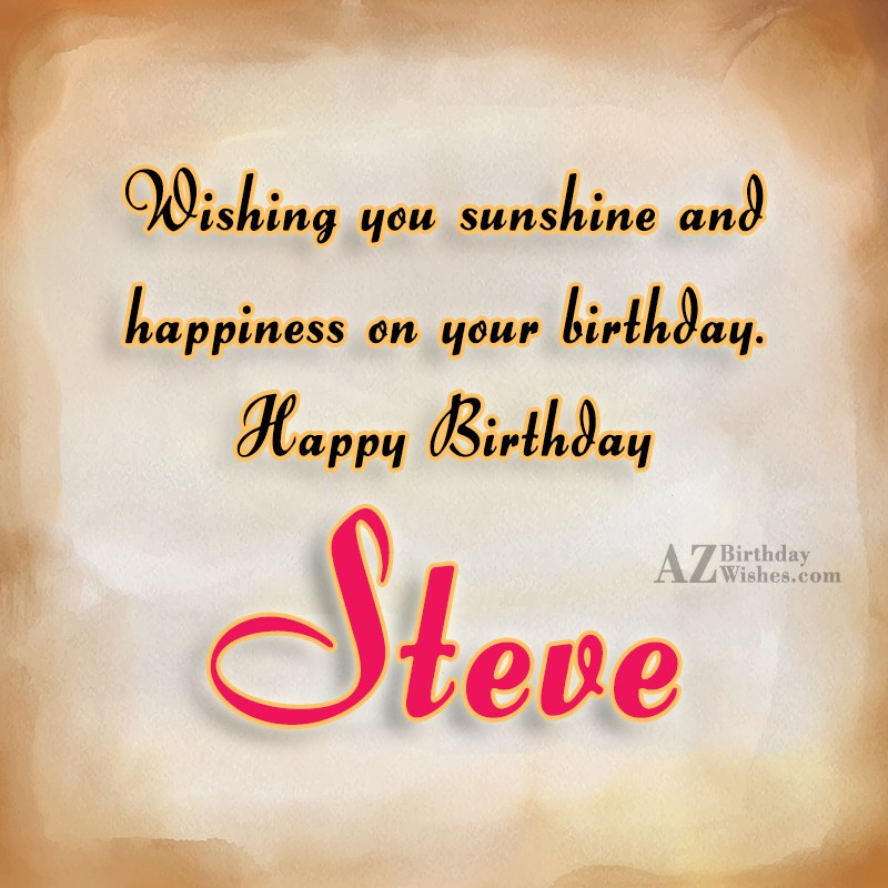 happy belated birthday steve images
