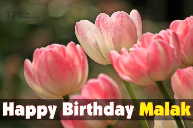 Happy Birthday Malak - AZBirthdayWishes.com