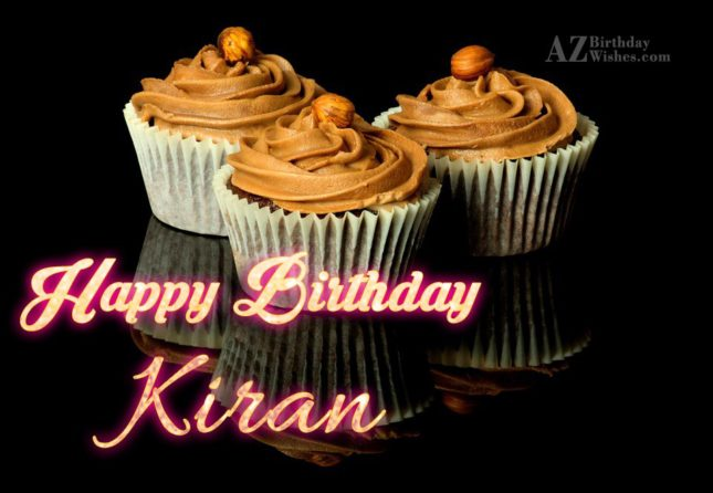 Happy Birthday Kiran - AZBirthdayWishes.com