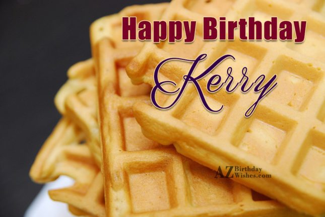 Happy Birthday Kerry - AZBirthdayWishes.com