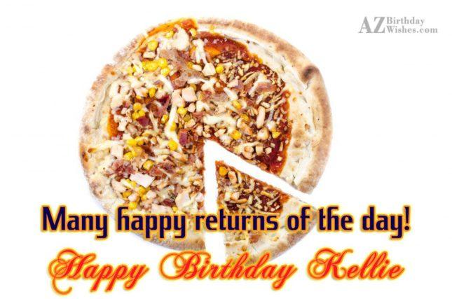 Happy Birthday Kellie - AZBirthdayWishes.com