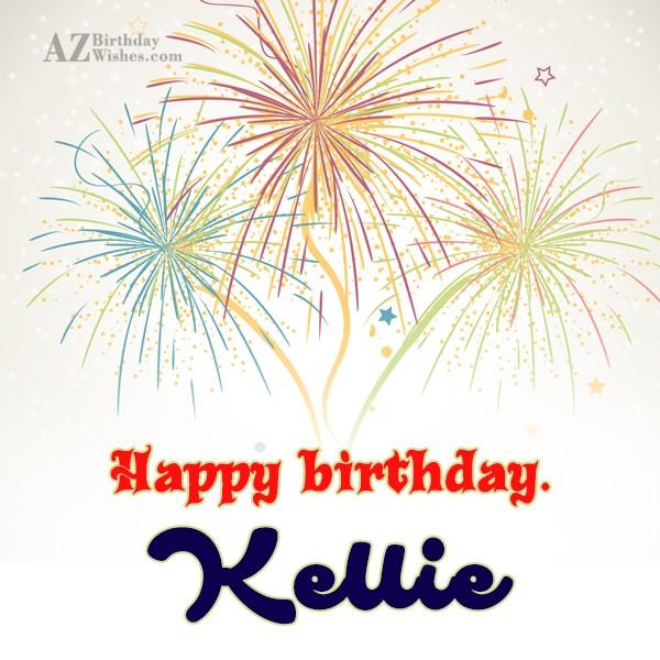 Happy Birthday Kellie